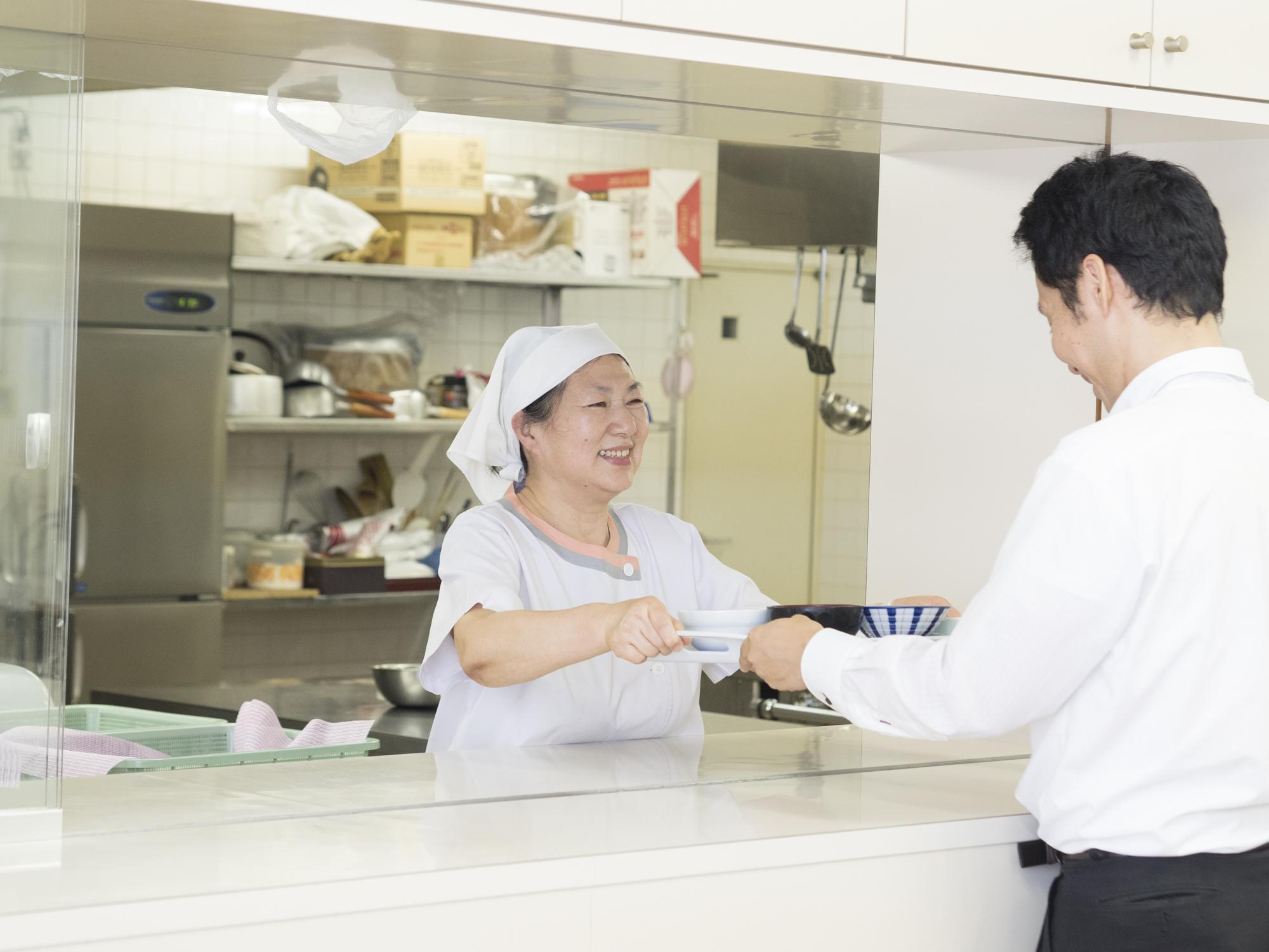 学生寮・独身寮・学生食堂・社員食堂のお仕事